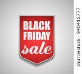 black friday tag | Shutterstock .eps vector #340412777