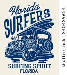 Surfer Vehicle Vector Design