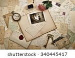 Old Letters  Photographs And...