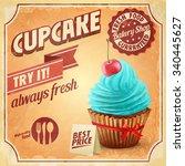 cupcake best price   Shutterstock .eps vector #340445627