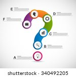 abstract colorful infographic...