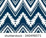 geometric ethnic pattern... | Shutterstock .eps vector #340498571