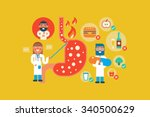 illustration of... | Shutterstock .eps vector #340500629