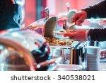 catering food | Shutterstock . vector #340538021