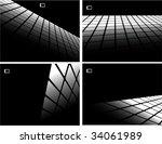 the black and white vector... | Shutterstock .eps vector #34061989