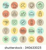 set of isolated universal... | Shutterstock .eps vector #340633025