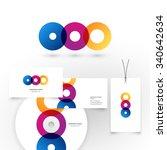 modern icon design logo element.... | Shutterstock .eps vector #340642634