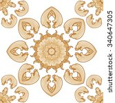 traditional textile pattern | Shutterstock .eps vector #340647305