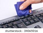 Keyboard Is Cleaned