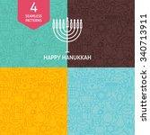 Thin Line Happy Hanukkah...
