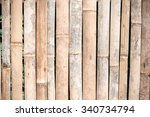bamboo fence background.   Shutterstock . vector #340734794