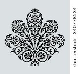 traditional indian motif | Shutterstock .eps vector #340778534