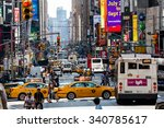 new york   august 22  views of... | Shutterstock . vector #340785617