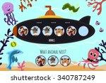 cartoon vector illustration of... | Shutterstock .eps vector #340787249