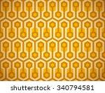 seamless honeycomb pattern. | Shutterstock .eps vector #340794581