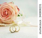 wedding ring  | Shutterstock . vector #340808231