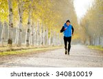 front view young sport man...   Shutterstock . vector #340810019
