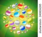 Christmas Decor  Balls And...