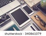responsive design mockup | Shutterstock . vector #340861079