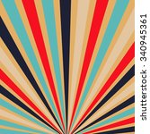 retro backgrounds with strips   ... | Shutterstock .eps vector #340945361