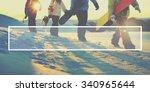 copy space badge label stamp... | Shutterstock . vector #340965644