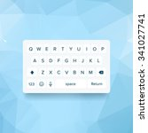 vector light keyboard of...