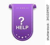 help violet vector icon design | Shutterstock .eps vector #341039507
