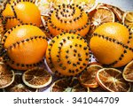 Dried Oranges And Oranges With...