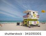 miami beach  florida   may 9th...   Shutterstock . vector #341050301