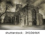 Church In England. Spooky...