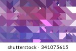 abstract background. pink mosaic | Shutterstock . vector #341075615