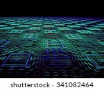Abstract Computer Generated...