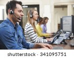Male Customer Services Agent In ...