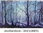 Original Oil Painting Night...