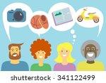 vector illustration of... | Shutterstock .eps vector #341122499