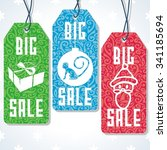 sale tags design for price....   Shutterstock .eps vector #341185694