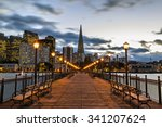 pier 7 port of san francisco | Shutterstock . vector #341207624