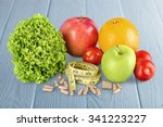 nutritional supplement. | Shutterstock . vector #341223227