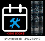 working day vector icon with... | Shutterstock .eps vector #341246447