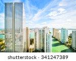 Skyscrapers In The Brickell Ke...