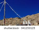 Buddhist Prayer Flags And...