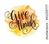 thanksgiving background.... | Shutterstock . vector #341255777