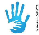vector concept human or mother...   Shutterstock .eps vector #341288771