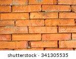 brick wall   Shutterstock . vector #341305535