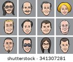 Vector Illustration Of Diverse...