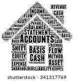 account word cloud illustration ... | Shutterstock . vector #341317769