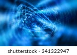 abstract blue background.... | Shutterstock . vector #341322947