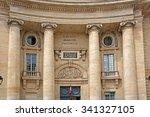 university of paris  faculty of ... | Shutterstock . vector #341327105