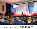 audience in the conference hall | Shutterstock . vector #341336795