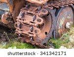 Rusted Machinery  Old World Wa...